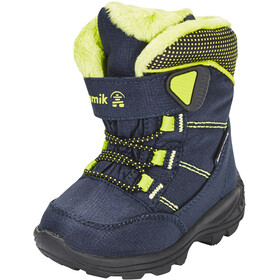 Kamik Stance Chaussures Enfant, navy lime-marine citron vert